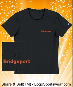 BRIDGEPORT-- Customize Gildan T-shirt 100% Cotton Unisex Adult Design Zoom