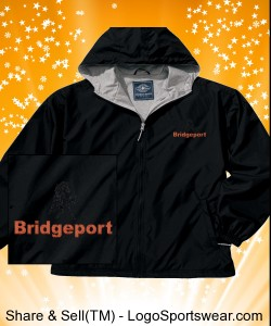BRIDGEPORT-Design Charles River Jacket Full Zip Front Portsmouth Adult Design Zoom