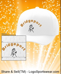 Bridgeport- Yupoong Cap Six Panel Low Profile Athletic Mesh Flexfit Design Zoom